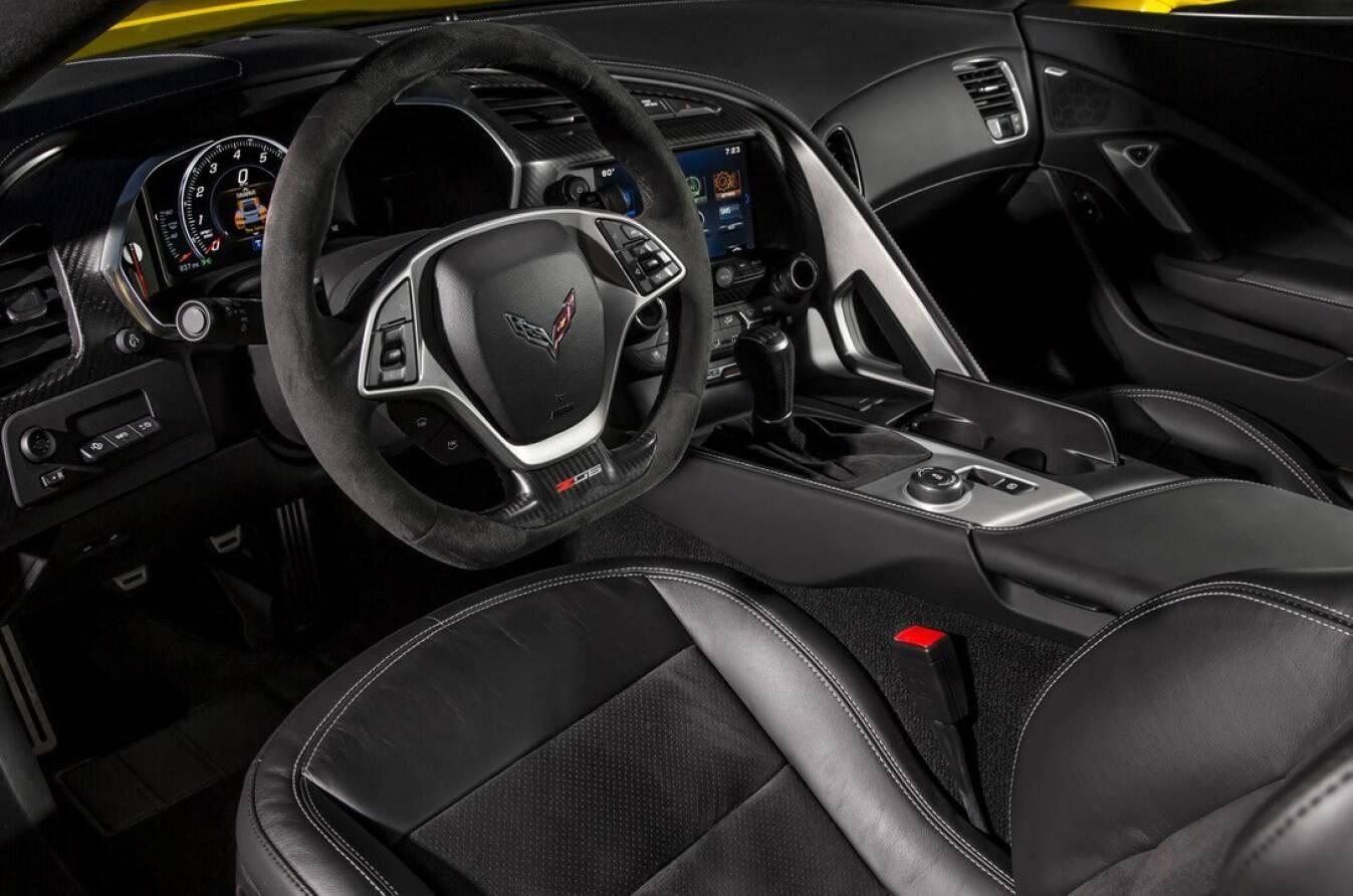 Chevrolet Corvette ZR1 conversível 2019. Foto: Divulgação
