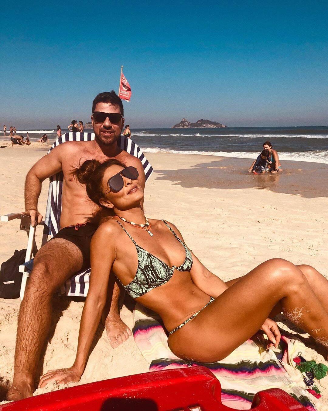 Juliana Paes foi uma das celebridades que apostaram no 'animal print' para o verão. Foto: Reprodução/Instagram