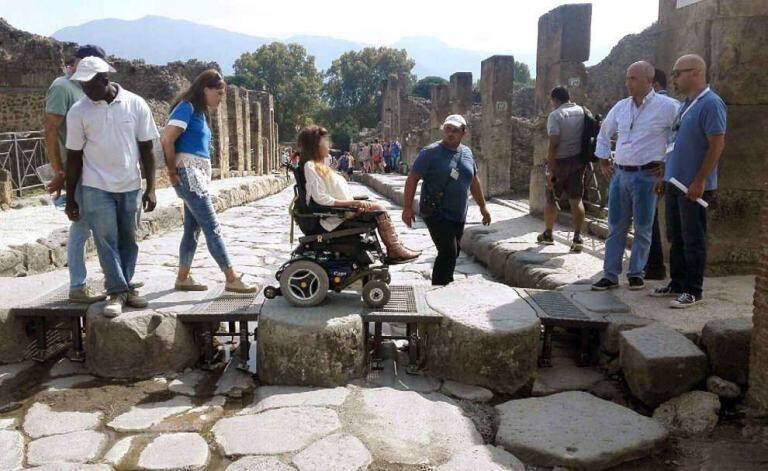 Pompeia para todos . Foto: Repubblica.it