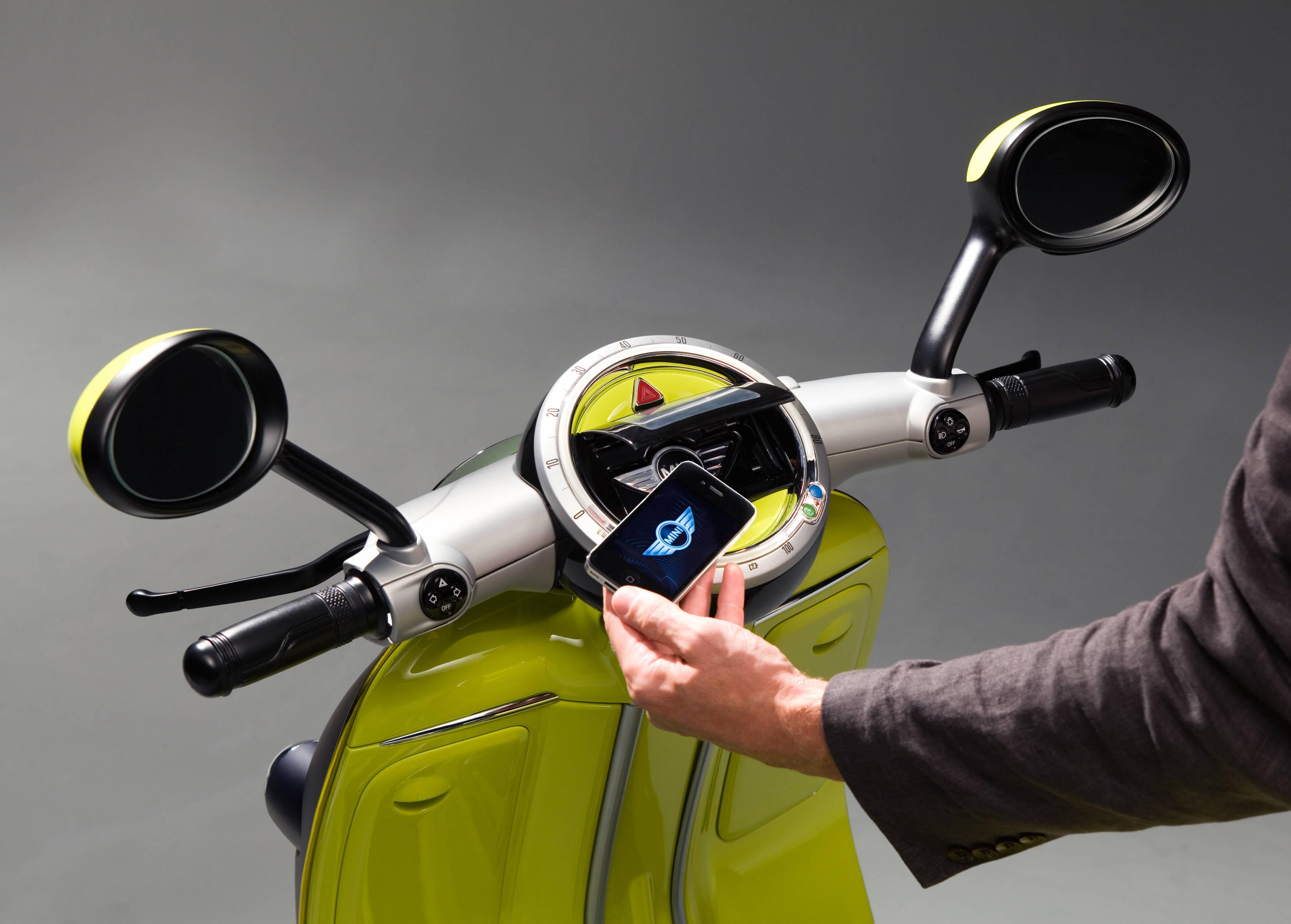 Scooter elétrico da Mini. Foto: Divulgação