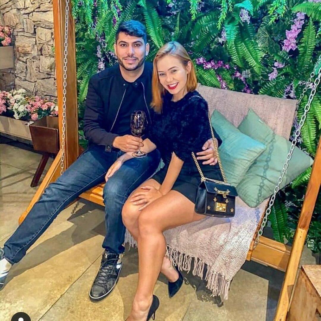 Mirela Janis e Yugnir Ângelo. Foto: Instagram