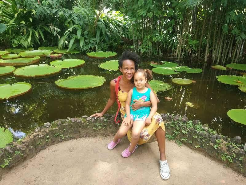 Visitando a cidade da mãe, Belém do Pará. Foto: Arquivo pessoal