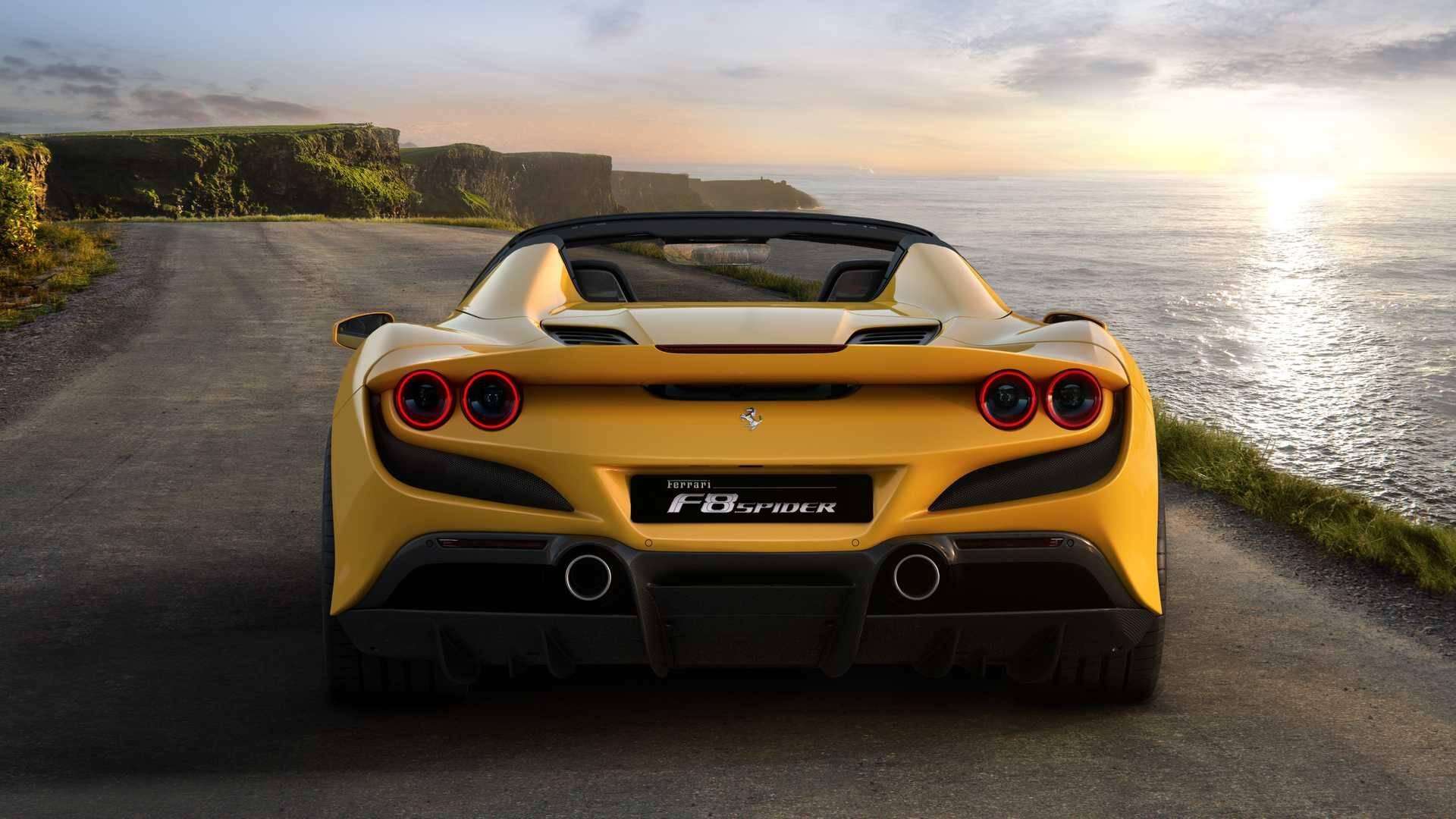 Ferrari F8. Foto: Divulgação