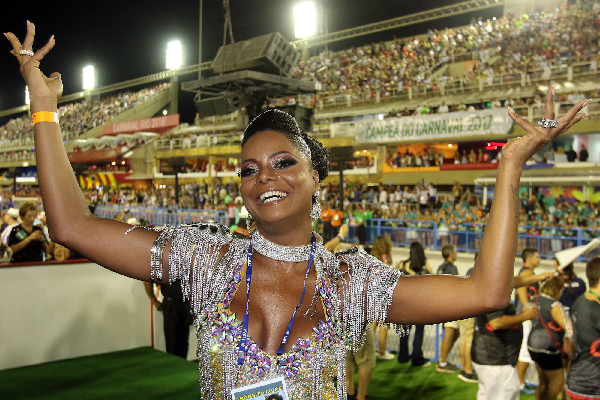 Camarote Grande Rio na última segunda-feira (12), no Rio. Foto: eny miranda