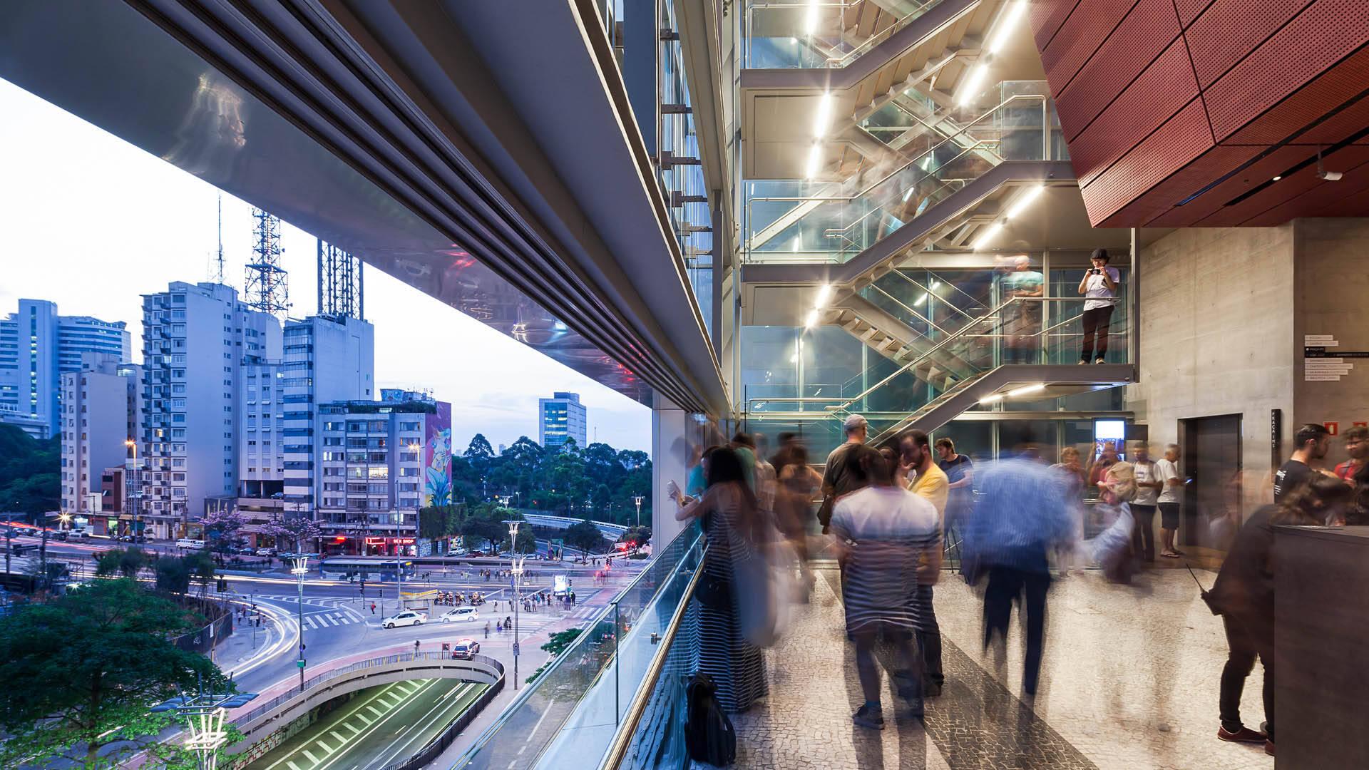 O Instituto Moreira Salles (IMS) fica próximo da região da Consolação, ainda na Avenida Paulista. Foto: Divulgação/IMS