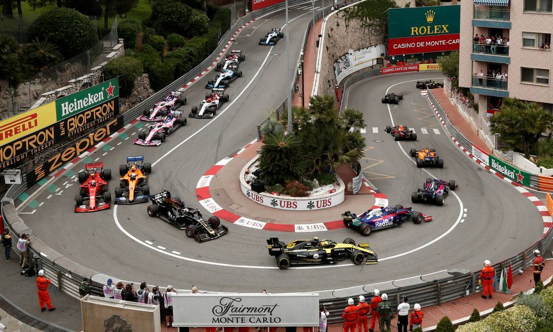 Mônaco também é conhecida por receber corridas de Fórmula 1. Foto: Agência O Globo