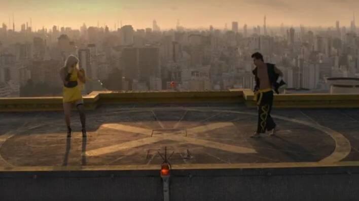 Episódio é finalizado no topo do Edifício Copan, no bairro da República. Foto: Reprodução