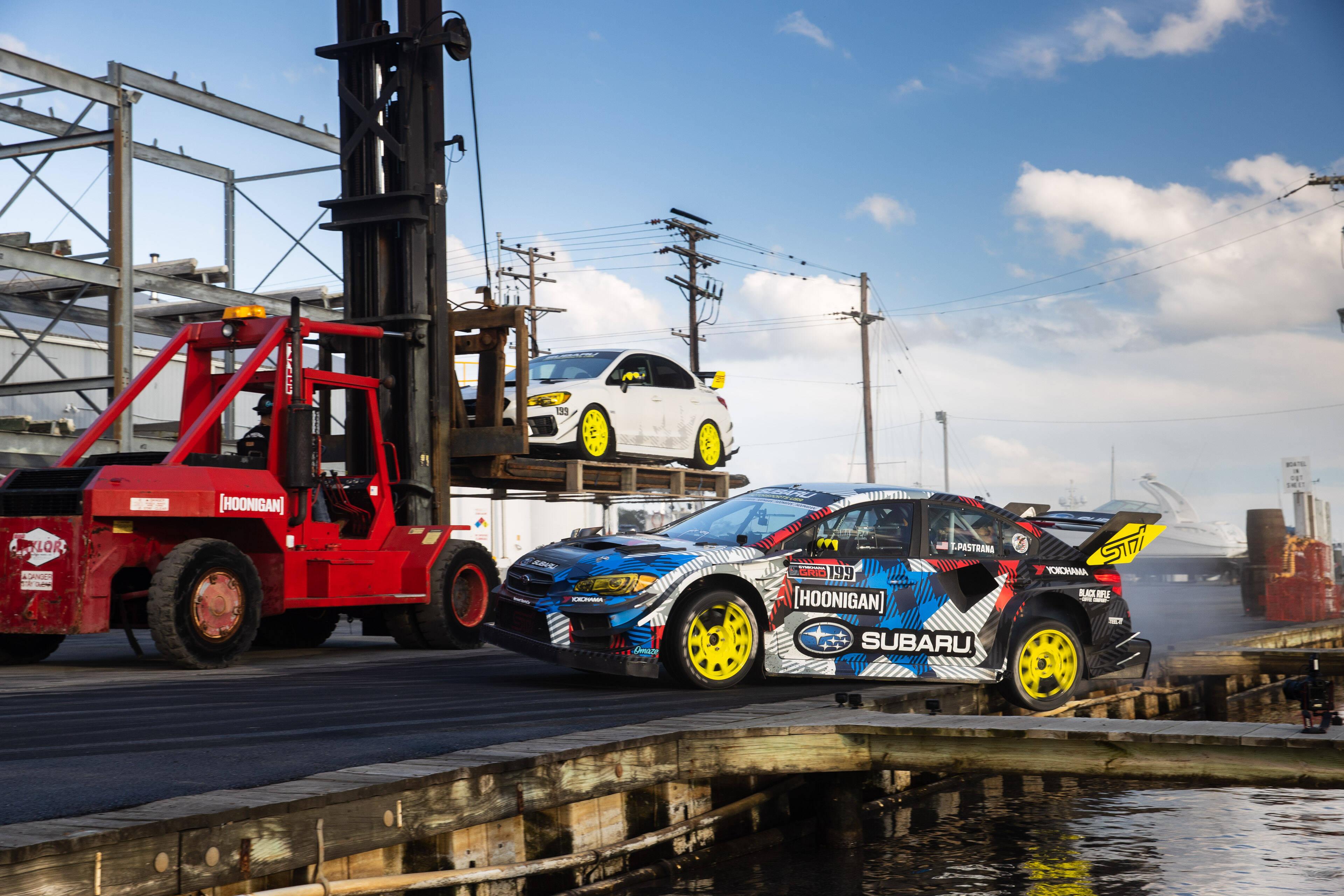Subaru WRX STI no vídeo Gymkhana 2020. Foto: Divulgação