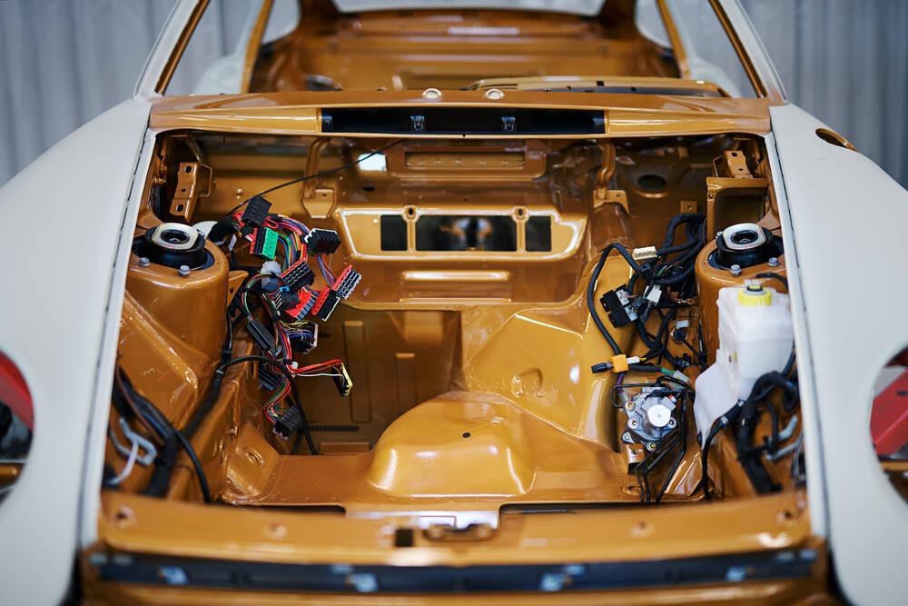 Porsche 911 993 Turbo S. Foto: Divulgação