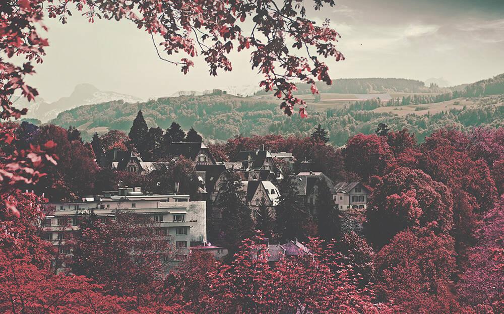 A bucólica cidade de Bern, na Suíça. Foto: Alexandre Perotto/Pexels