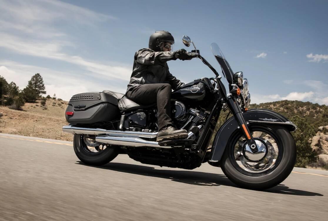 Harley-Davidson Heritage Classic. Foto: Divulgação