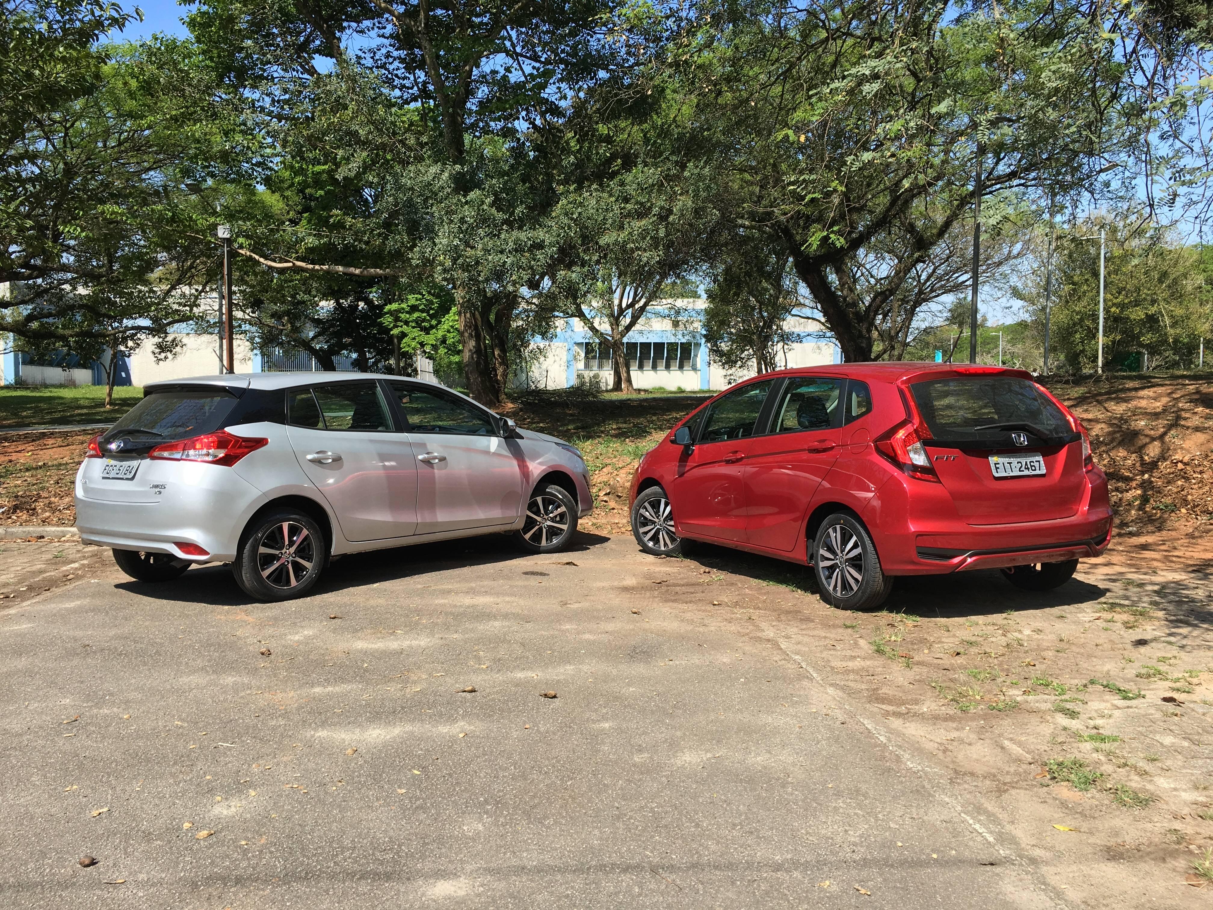 Honda Fit EX-L 2019. Foto: Caue Lire/iG Carros