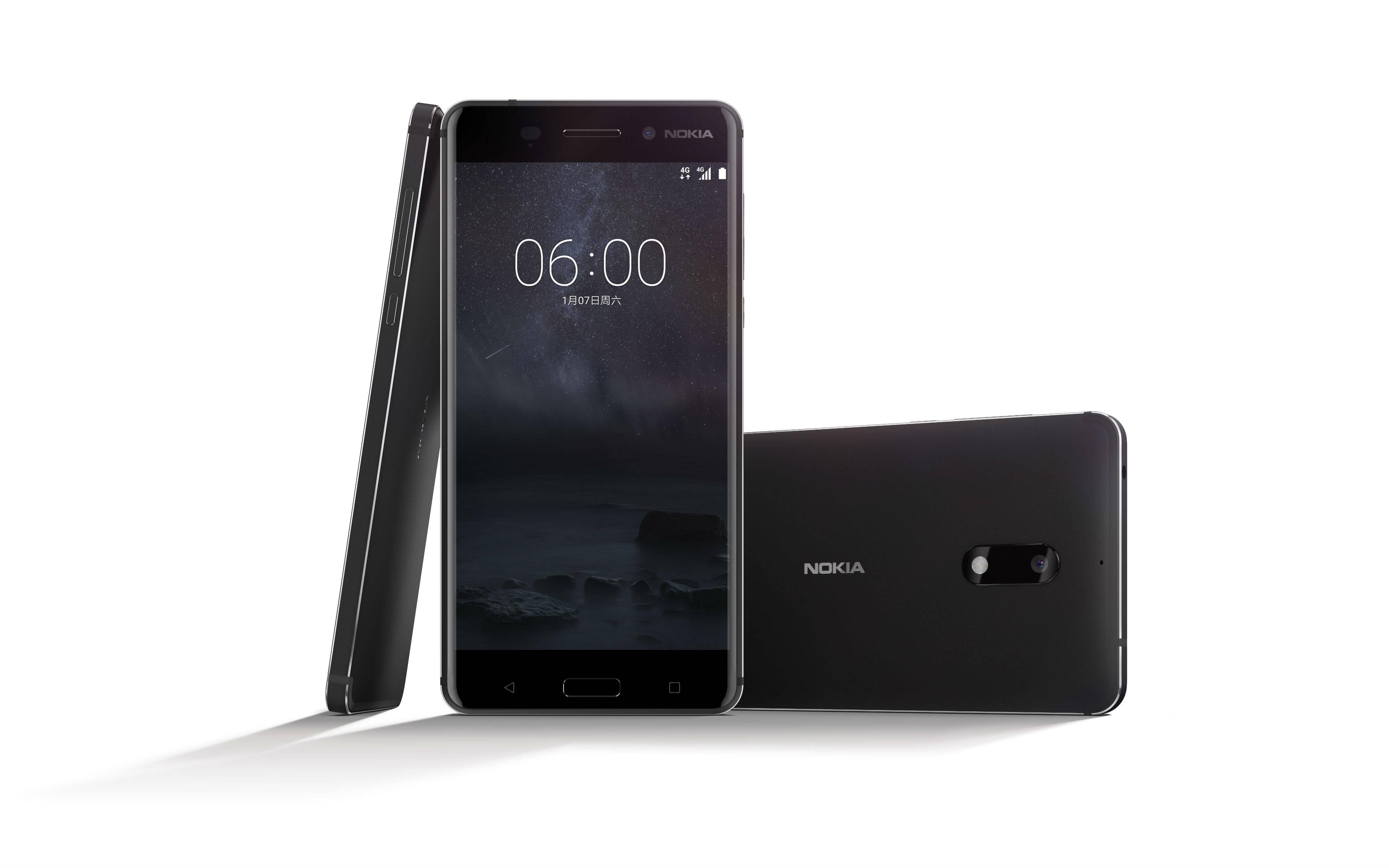 Nokia 6 utiliza o sistema operacional Android 7.1.1 Nougat. Foto: Divulgação