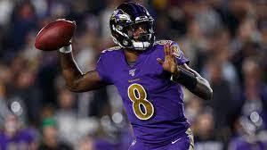 18 - Lamar Jackson (Baltimore Ravens/NFL). Foto: Divulgação