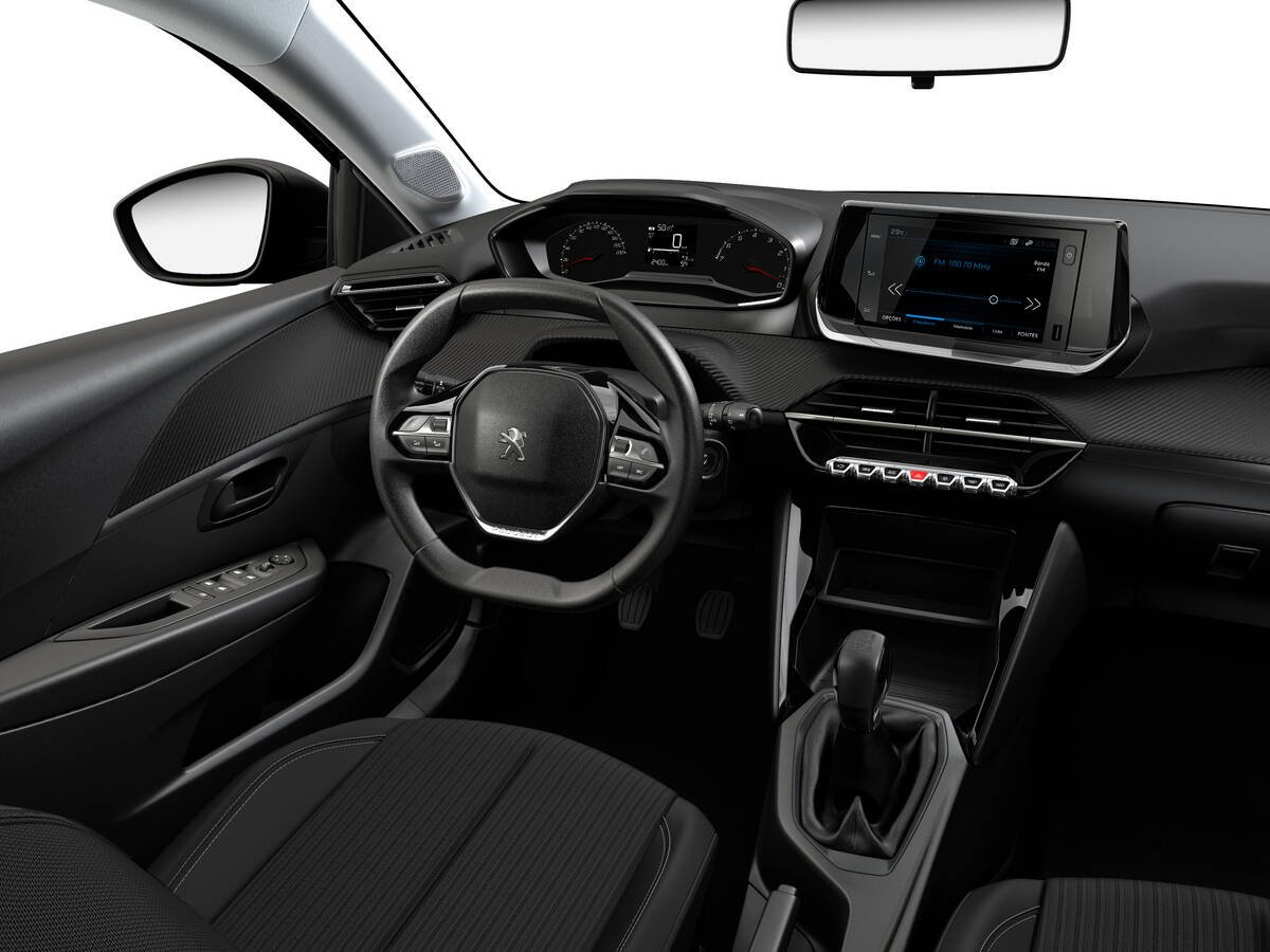 Peugeot 208 Like Pack. Foto: Divulgação