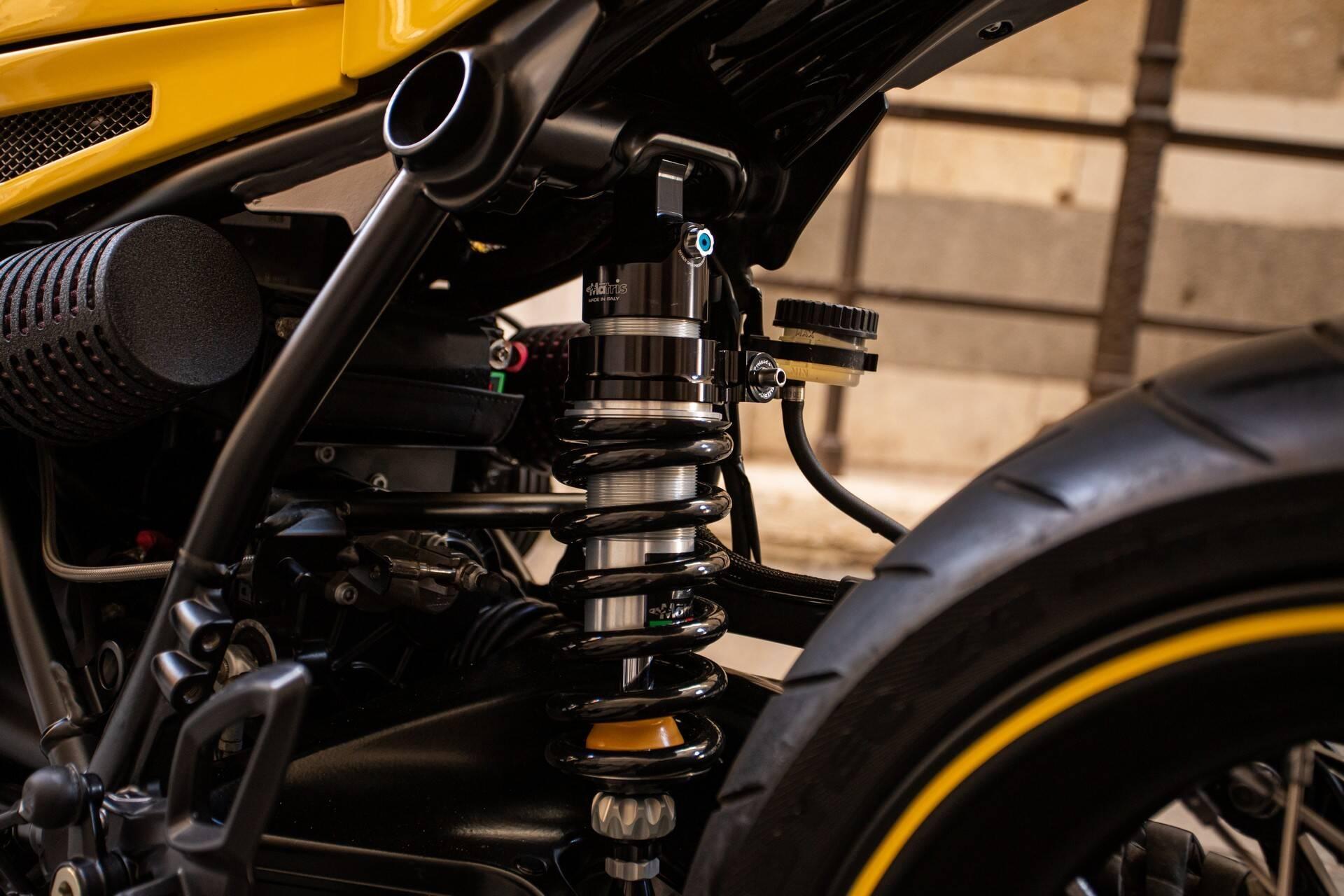 BMW R nineT Racer Bullet 'Transformer Bumblebee' . Foto: Divulgação