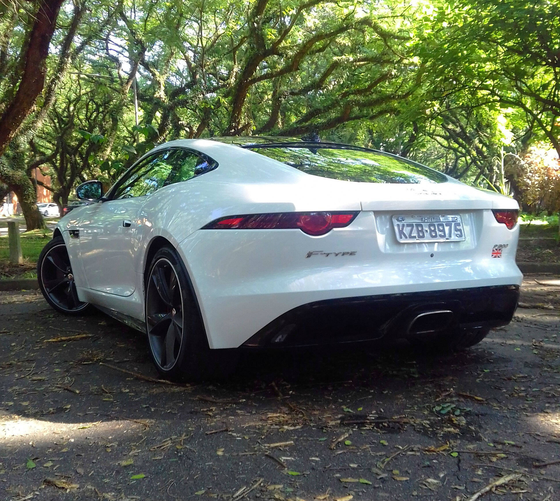 Jaguar F-Type 2.0. Foto: Carlos Guimarães/iG