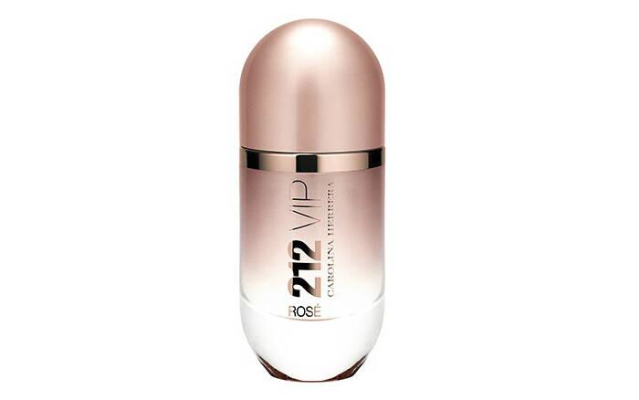 212 Vip Rosé Feminino Eau de Parfum, da Carolina Herrera, por R$279,00 . Foto: Divulgação