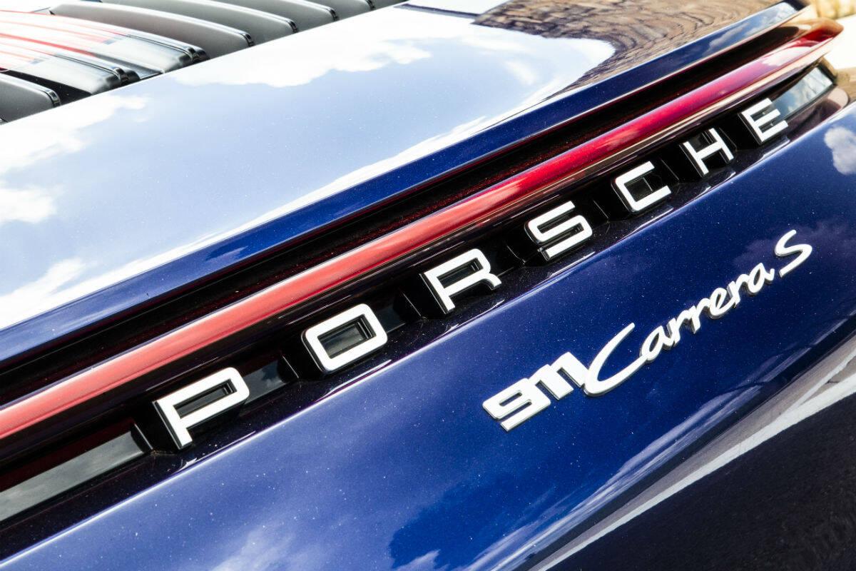 Porsche 911. Foto: Divulgação