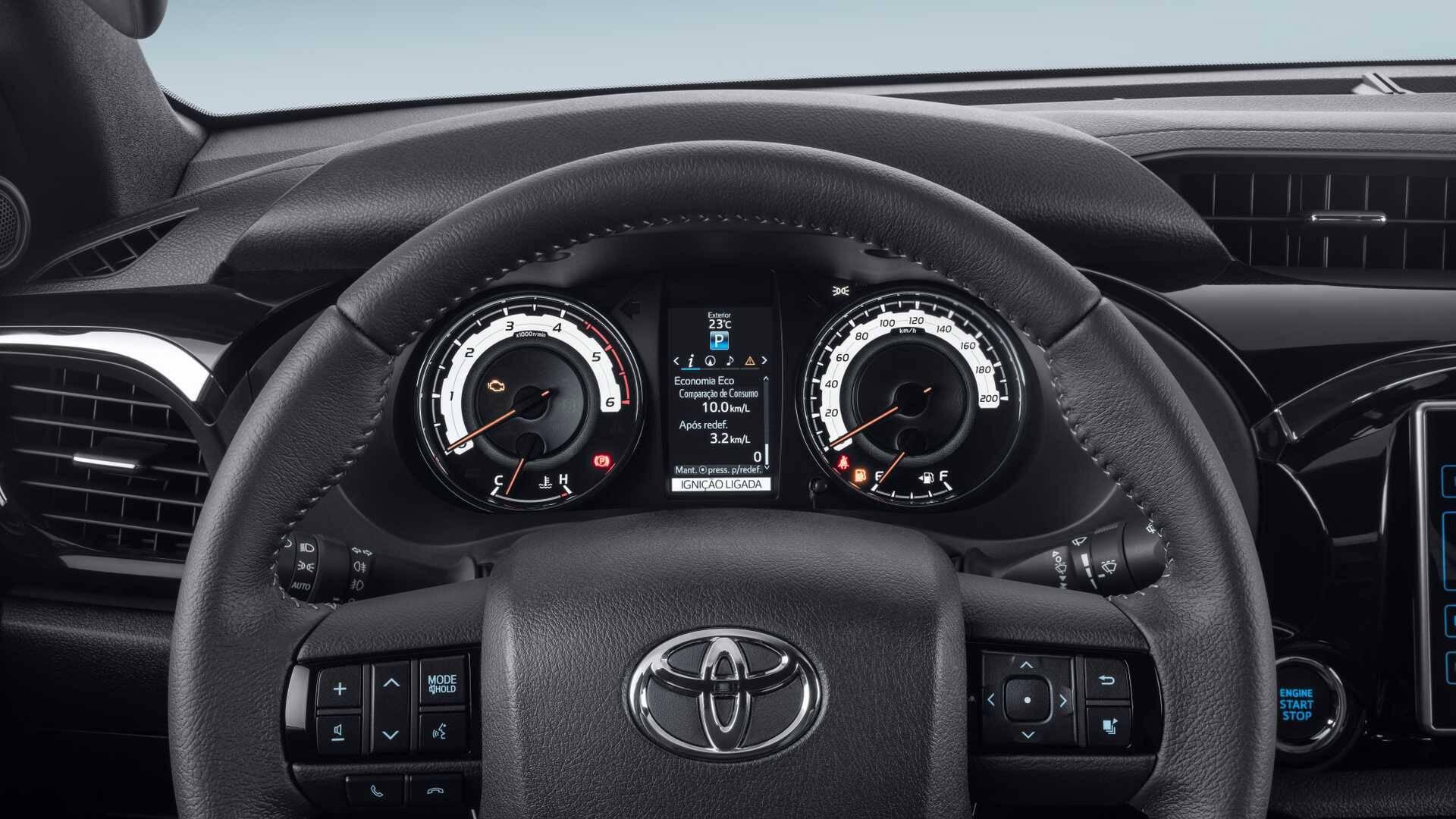 Toyota Hilux 2020. Foto: Divulgação