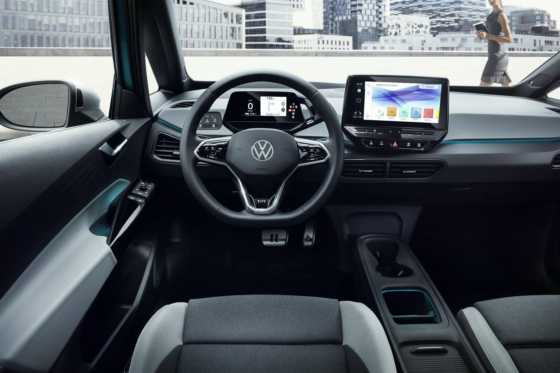 VW ID.3. Foto: Divulgação