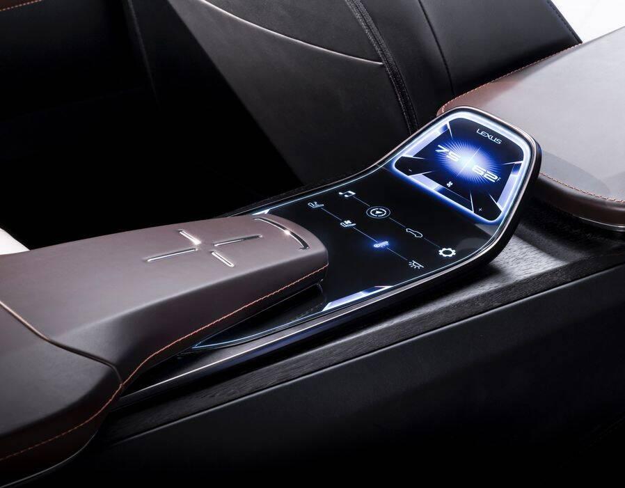 Lexus LF-1. Foto: Divulgação