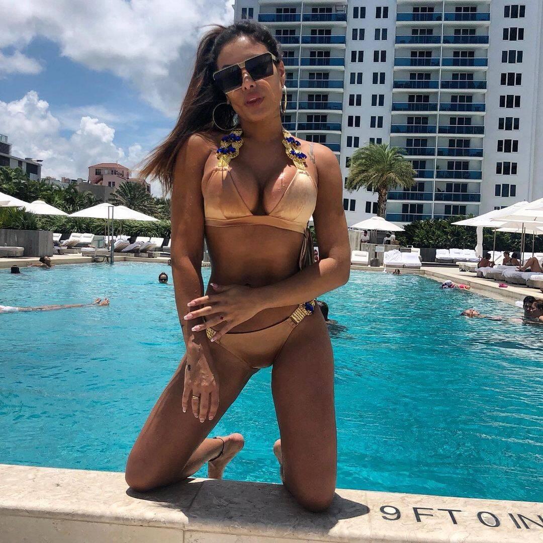 Patrícia Jordane - Neymar teria namorado outra modelo da Playboy, em 2013. Contudo, o suposto relacionamento foi parar no tribunal após a modelo posar para a revista dizendo que ela e o jogador de futebol eram um casal, algo que o craque não gostou. . Foto: Reprodução/Instagram