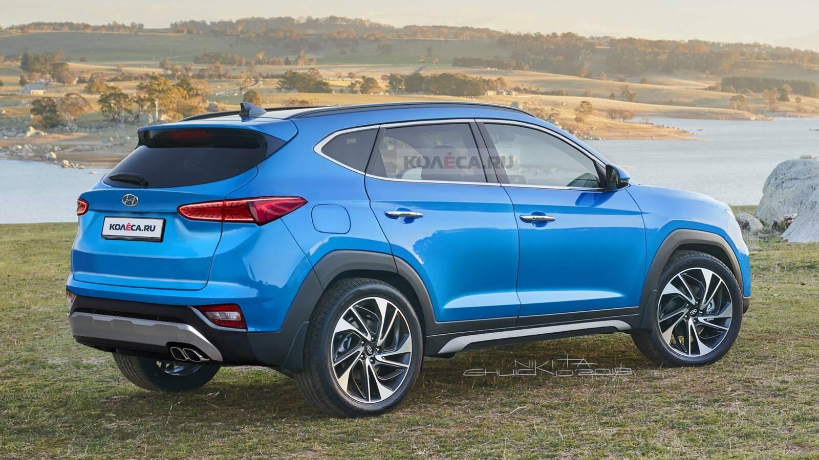 Novo Hyundai Tucson. Foto: Reprodução