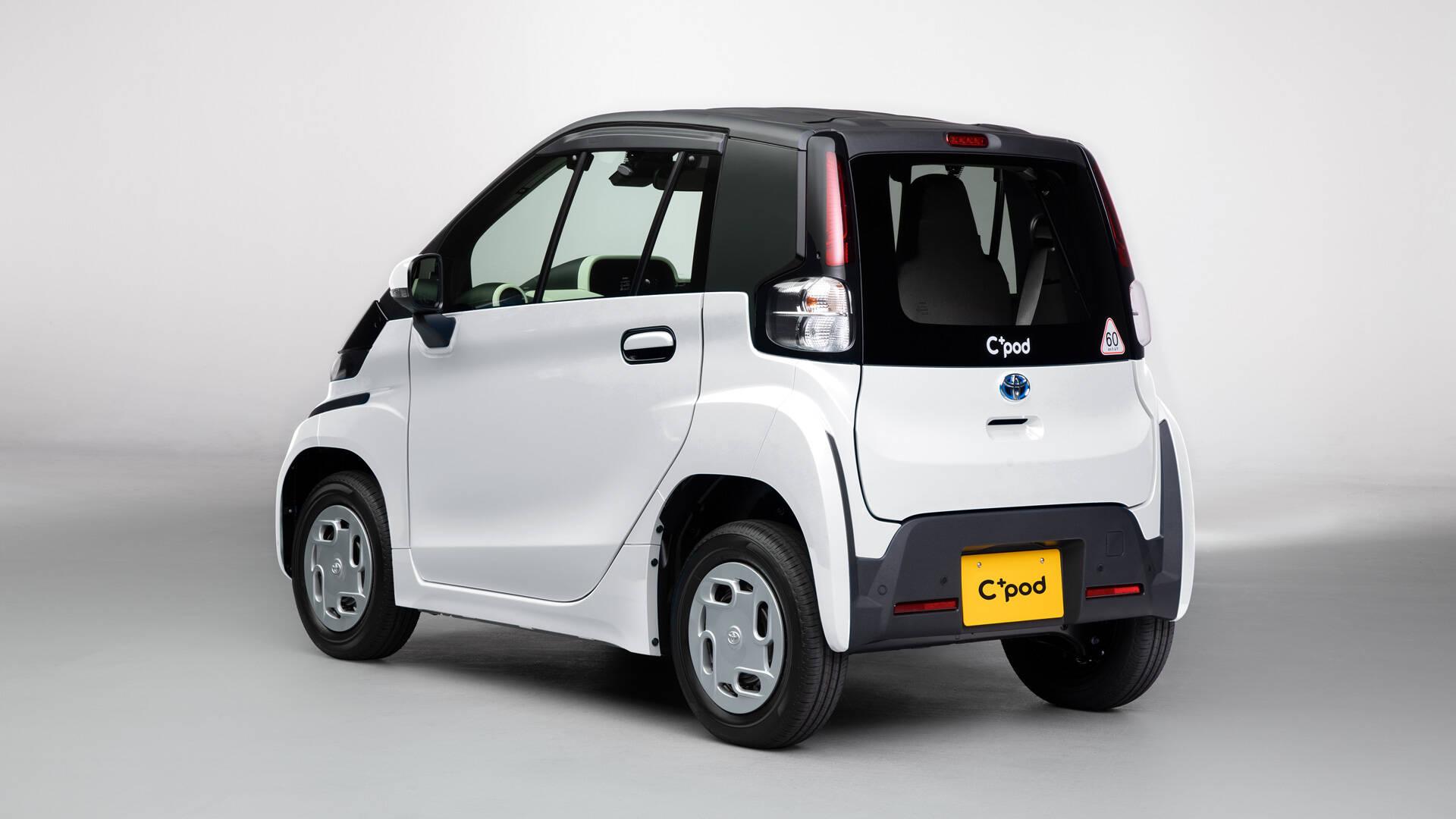 Toyota C+pod. Foto: Divulgação