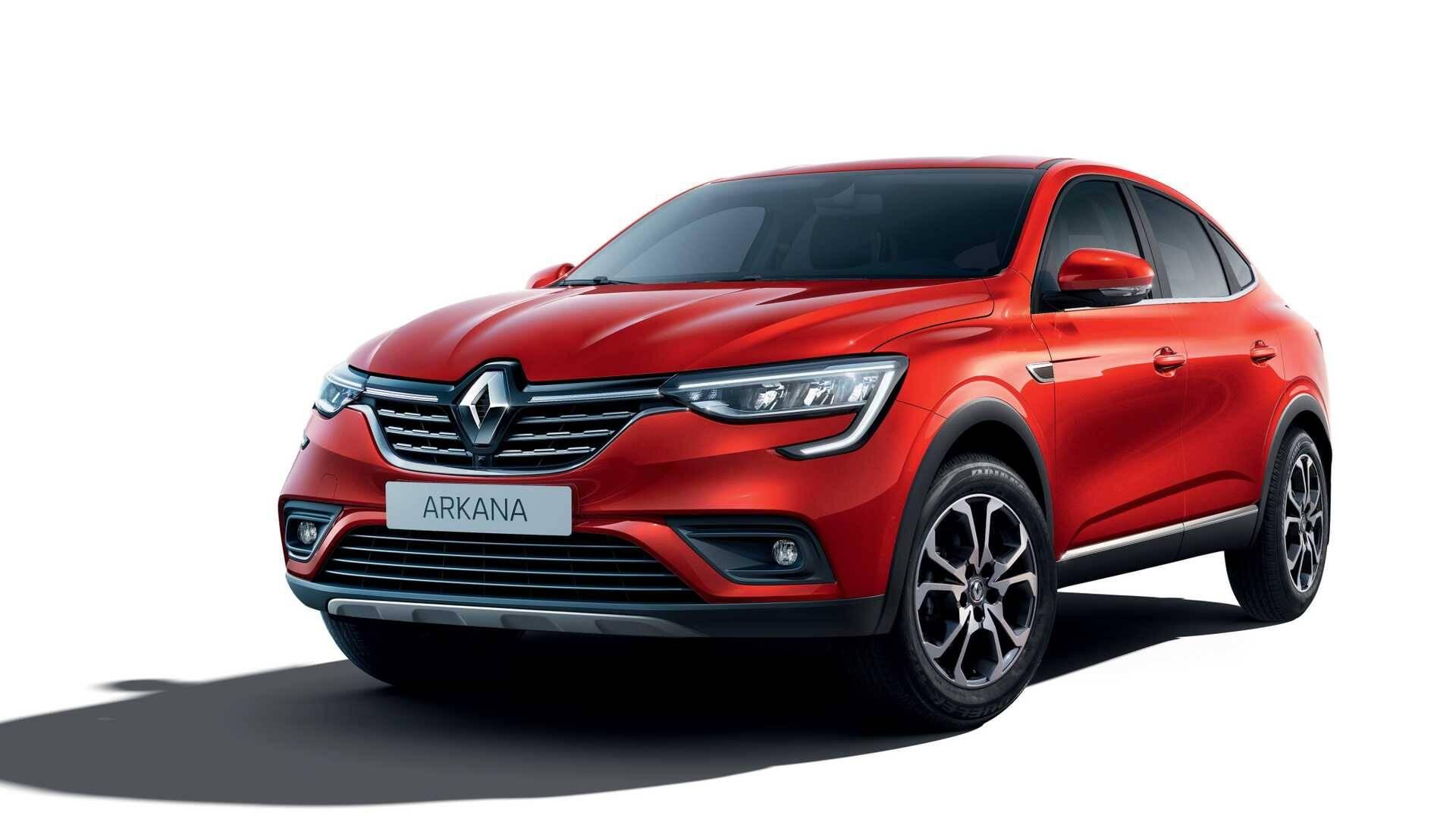 Renault Arkana. Foto: Divulgação