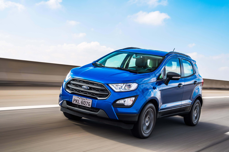 Ford EcoSport 2018. Foto: Divulgação