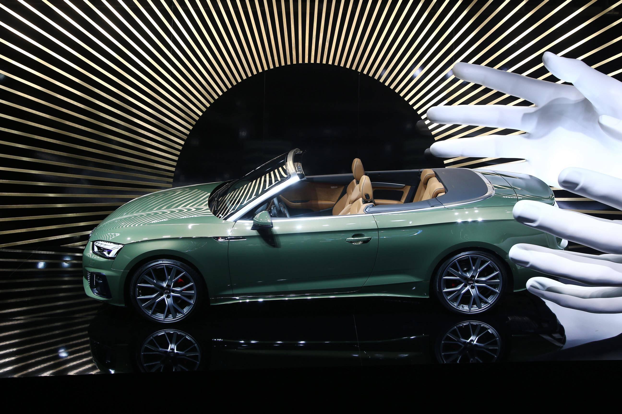 Audi S5 Cabrio. Foto: Newspress