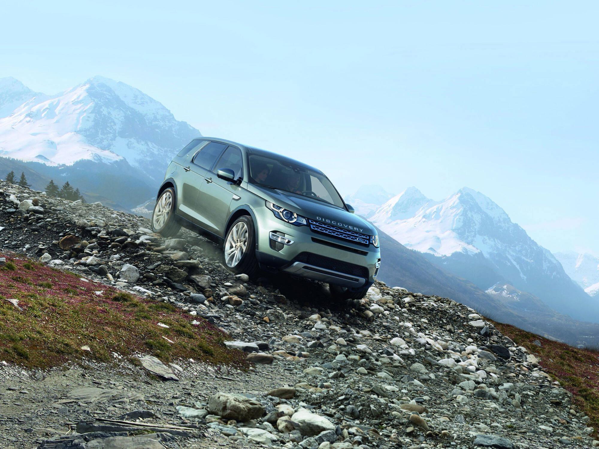 Land Rover Discovery Sport. Foto: Divulgação/Jaguar Land Rover