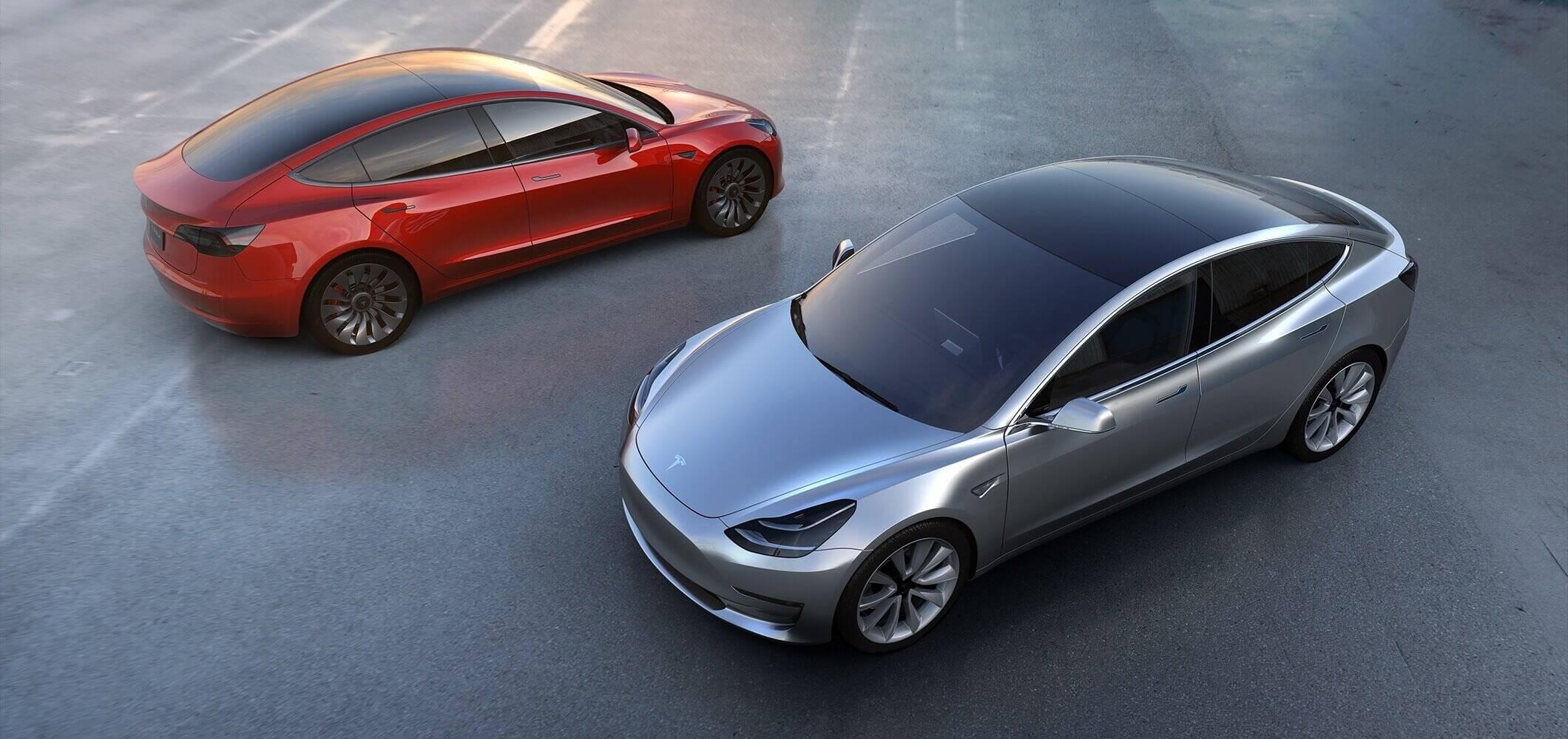 Tesla Model 3. Foto: Reprodução