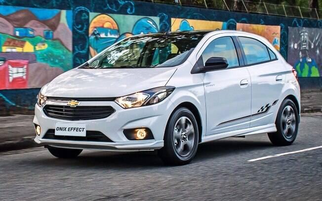 Chevrolet Onix - Depreciação de 9,2%. Foto: Divulgação