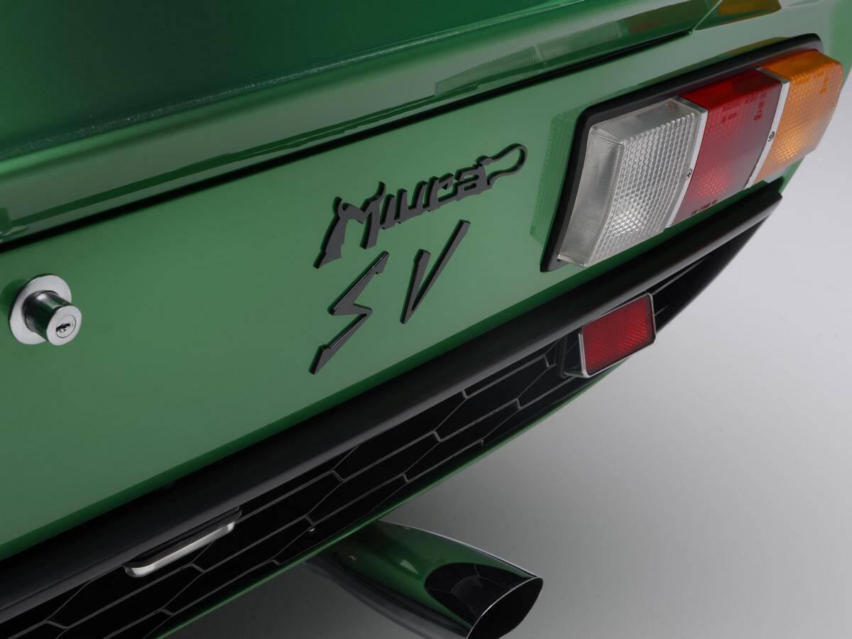 Lamborghini Miura SV. Foto: Divulgação