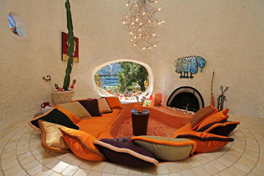 Sala inspirada no seriado. Foto: Getty Image/Realtor.com