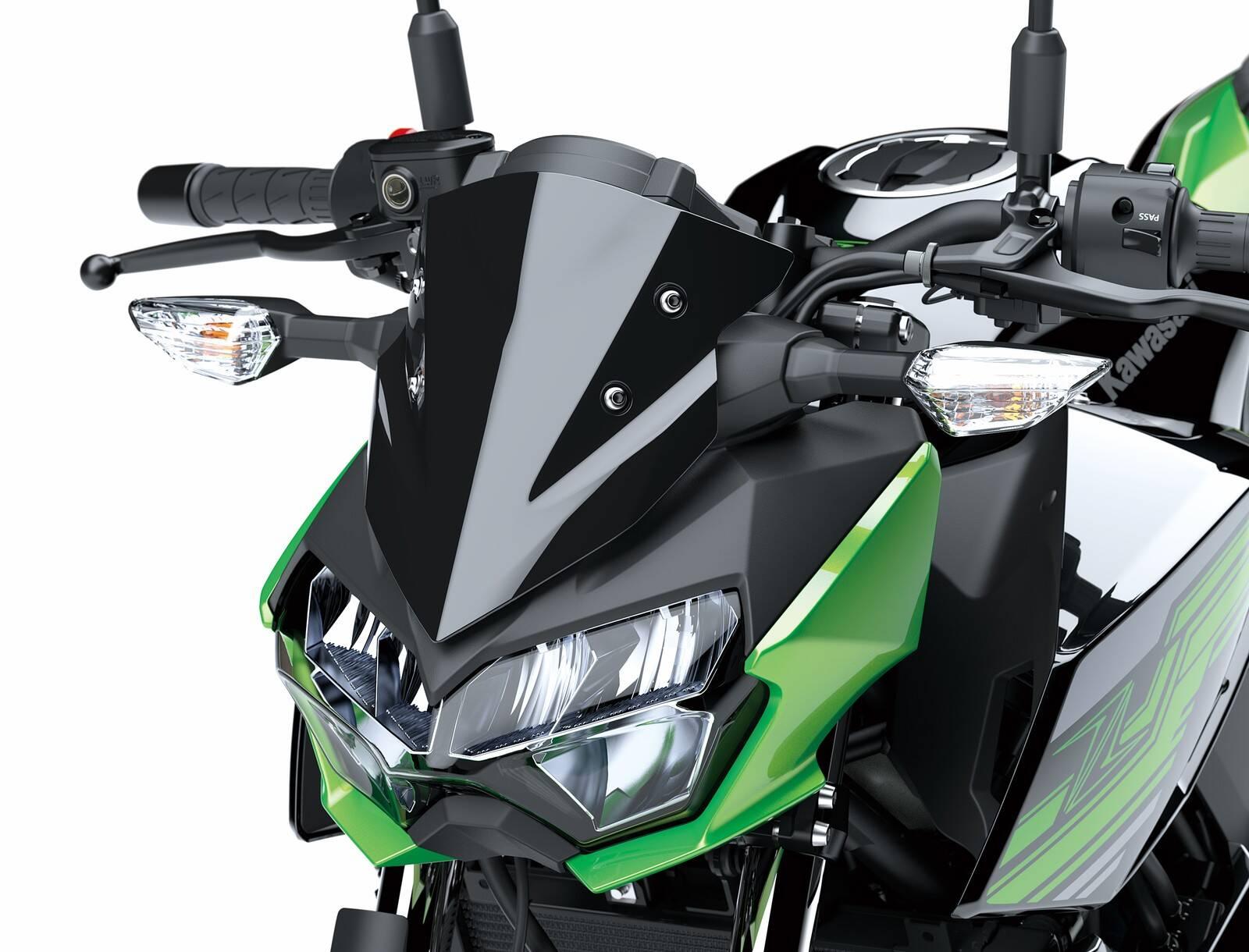 Kawasaki Z400. Foto: Divulgação