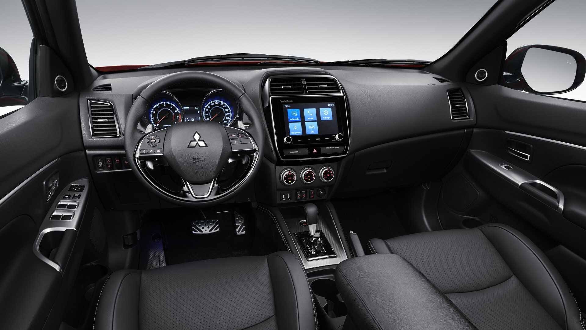Mitsubishi ASX. Foto: Divulgação