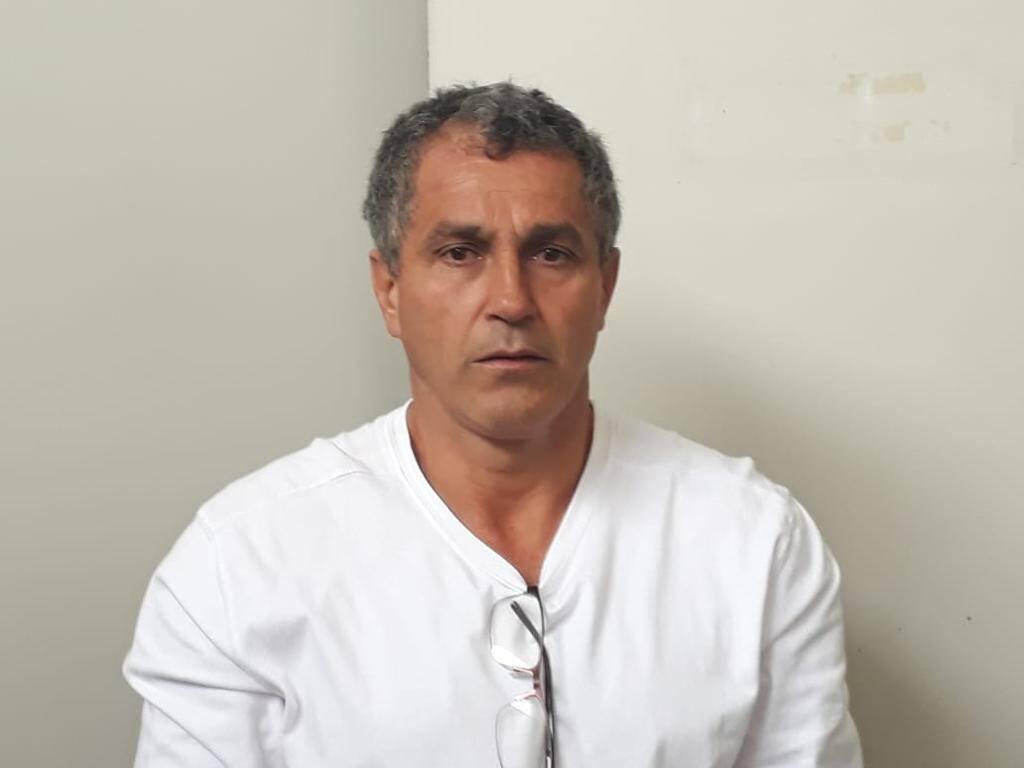 Dirnei de Jesus Ramos ligado a facção de tráfico internacional e à construção de túneis para assalto a bancos, preso pelo COE e GPI . Foto: Divulgação/COE-PMSP