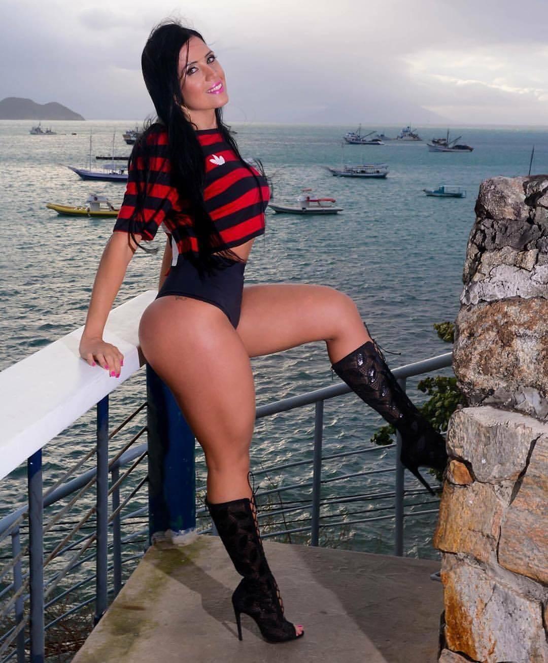 Sylvia Regina - Musa do Flamengo. Foto: Reprodução / Instagram