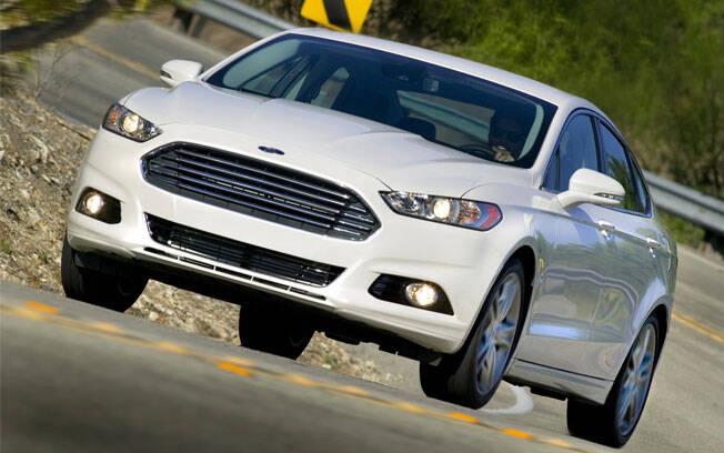 Ford Fusion, sedã grande, 15,5% de desvalorização depois de um ano. Foto: Divulgação/Ford