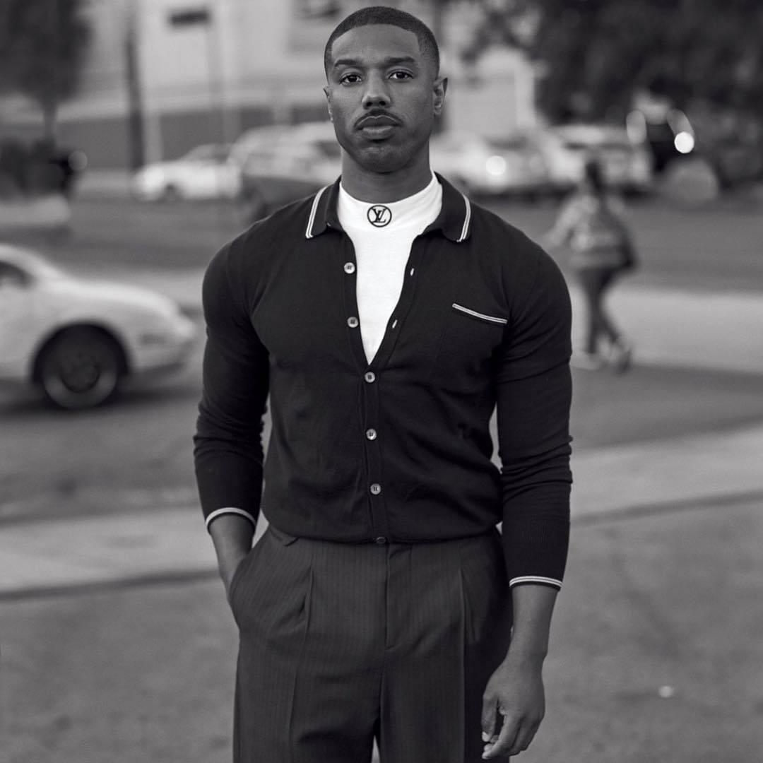 Michael B. Jordan é eleito uma das personalidades do ano pelo seu destaque nas telonas do cinema! . Foto: Reprodução/Instagram
