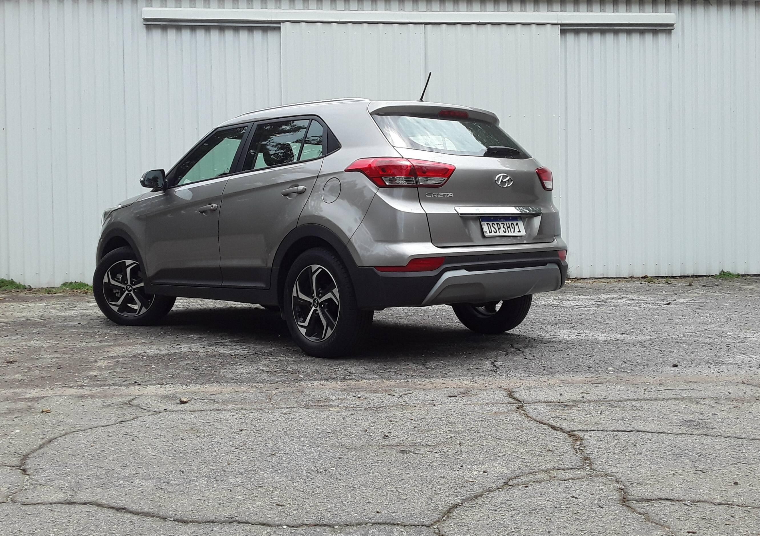 Hyundai Creta Smart Plus 2021. Foto: Carlos Guimarães/iG