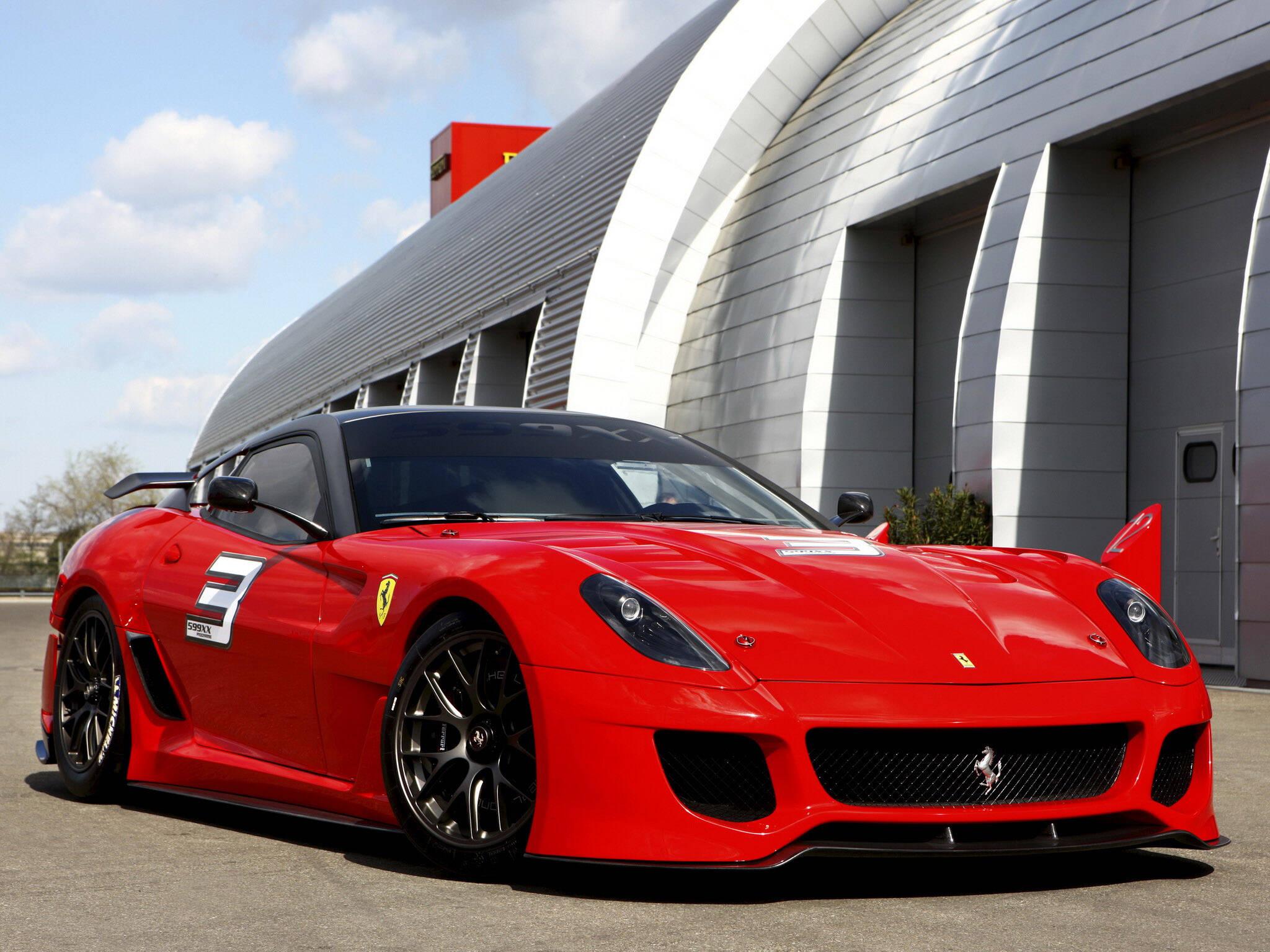 Ferrari 599 XX. Foto: Divulgação