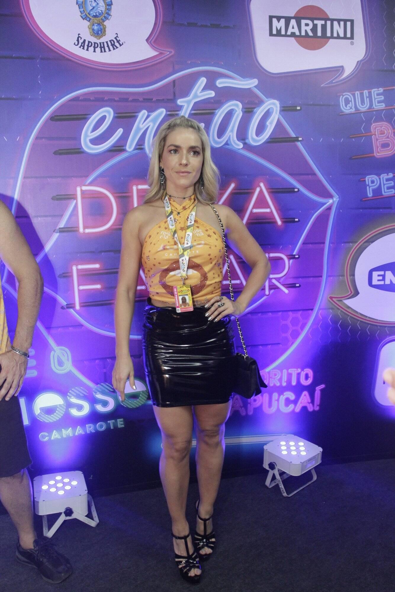 Camarote N1 na Marquês de Sapucaí na segunda-feira (12. Foto: Brazil News/CS Eventos Divulgacao