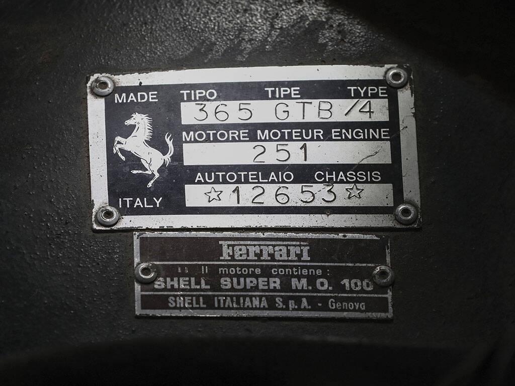 Ferrari 365 GTB Daytona. Foto: RM Sotherby's Ferrari