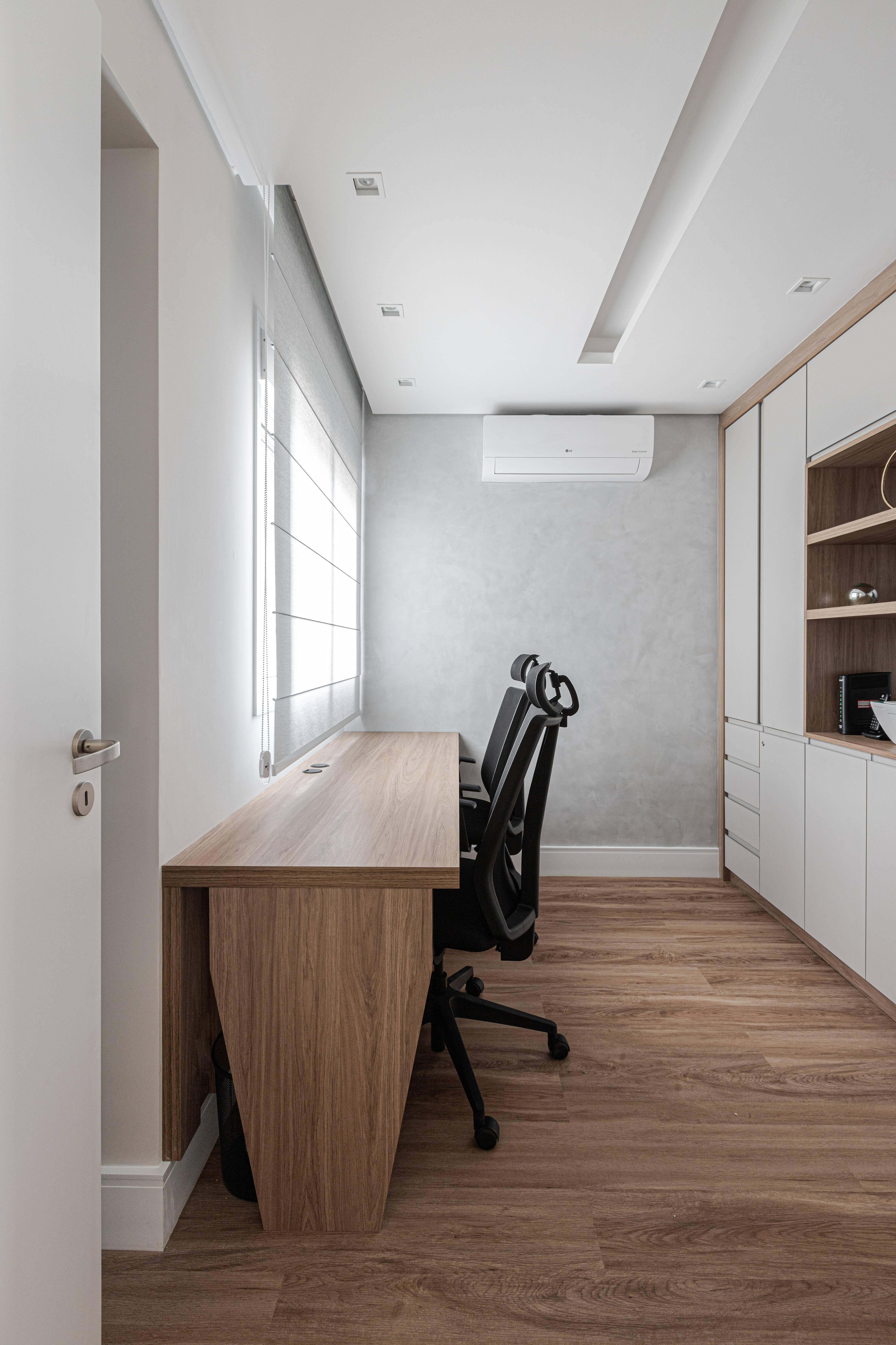 As cores precisam se alinhar ao mobiliário e ao décor para evitar poluição visual . Foto: Fernando Crescenti