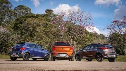 Novo Ford Ka. Foto: Divulgação