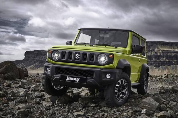 Suzuki Jimny. Foto: Divulgação